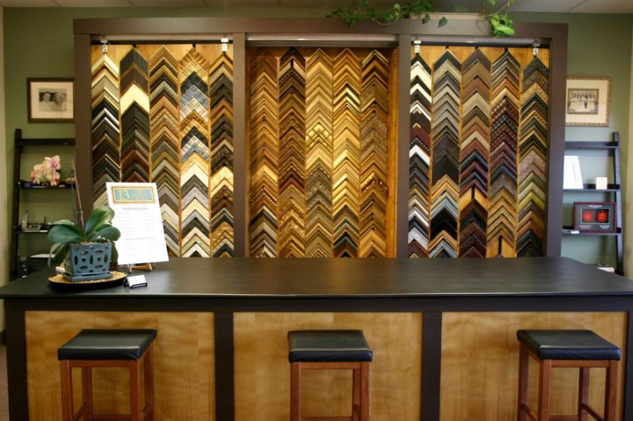 some of the framing materials available at our birdsboro store